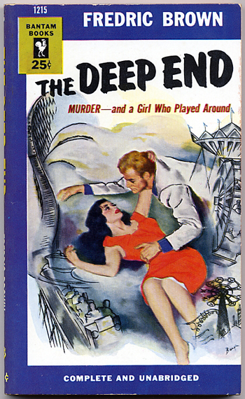 THE DEEP END. Fredric Brown.