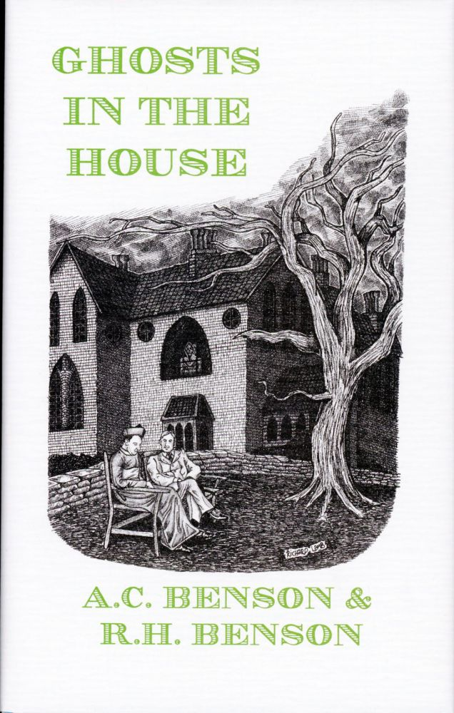 GHOSTS IN THE HOUSE. Introduction by Hugh Lamb. and Benson, obert, ugh, rthur, hristopher.