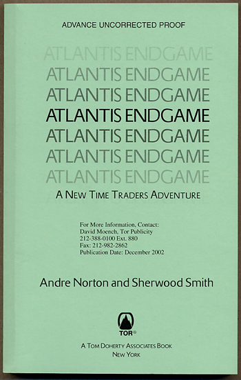 ATLANTIS ENDGAME: A NEW TIME TRADERS ADVENTURE.