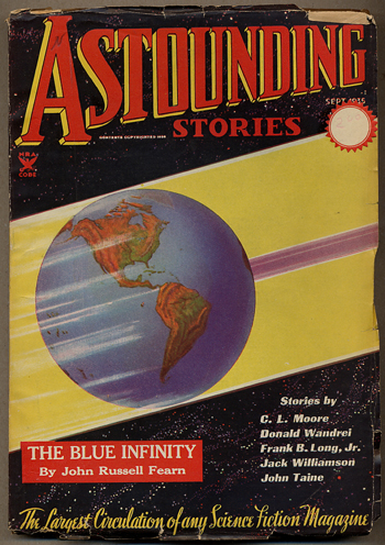 ASTOUNDING STORIES. 1935. . F. Orlin Tremaine ASTOUNDING STORIES. September, No. 1 Volume 16.