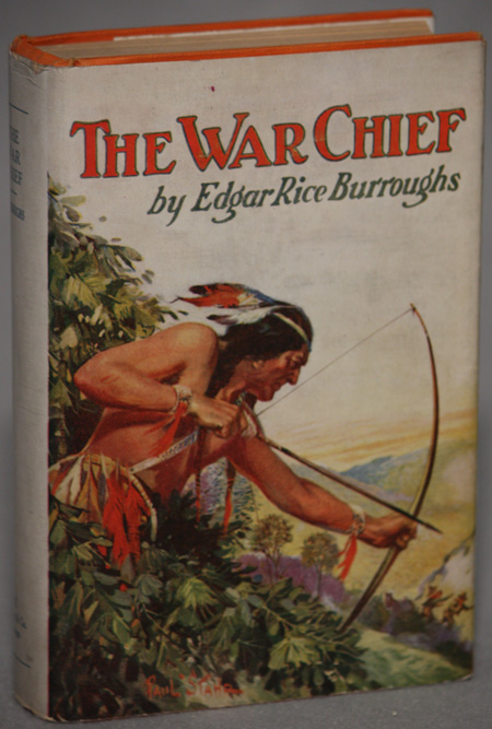 THE WAR CHIEF. Edgar Rice Burroughs.