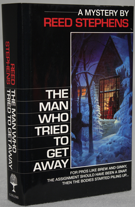 THE MAN WHO TRIED TO GET AWAY. Reed Stephens, pseudonym for Stephen R. Donaldson.