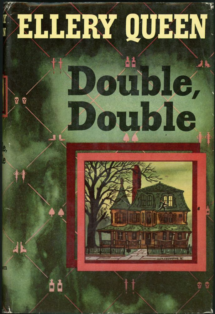 DOUBLE, DOUBLE: A NEW NOVEL OF WRIGHTSVILLE. joint, Frederic Dannay, Manfred B. Lee.
