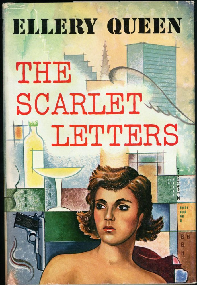 THE SCARLET LETTERS. joint, Frederic Dannay, Manfred B. Lee.
