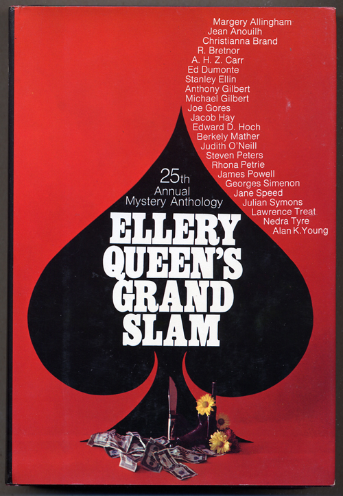 ELLERY QUEEN'S GRAND SLAM: 25 STORIES FROM ELLERY QUEEN'S MYSTERY MAGAZINE. joint, Frederic Dannay, Manfred B. Lee.