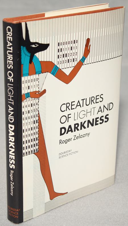 CREATURES OF LIGHT AND DARKNESS. Roger Zelazny.