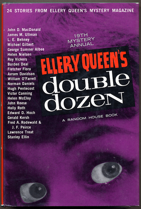ELLERY QUEEN'S DOUBLE DOZEN: 24 STORIES FROM ELLERY QUEEN'S MYSTERY MAGAZINE.