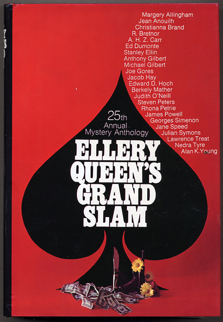 25th ANNIVERSARY ANNUAL: ELLERY QUEEN'S GRAND SLAM: 25 STORIES FROM ELLERY QUEEN'S MYSTERY MAGAZINE. Frederic Dannay, Manfred B. Lee.