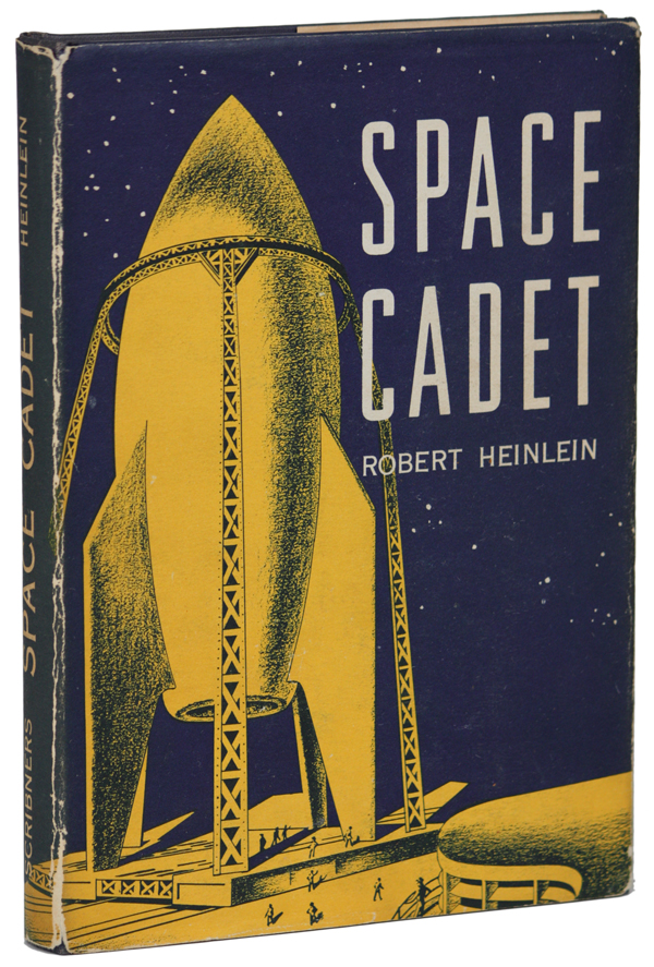 SPACE CADET. Robert A. Heinlein.