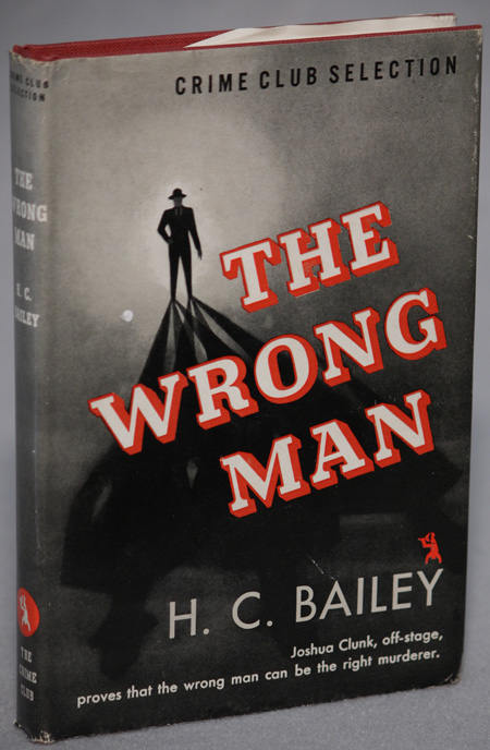 THE WRONG MAN. Bailey, enry, hristopher.