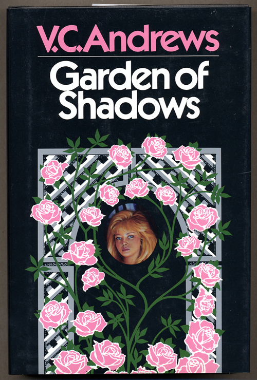 Vc Andrews Book Cover Art : Garden of shadows virginia c andrews first edition
