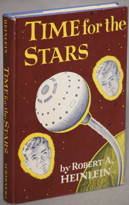 TIME FOR THE STARS. Robert A. Heinlein.