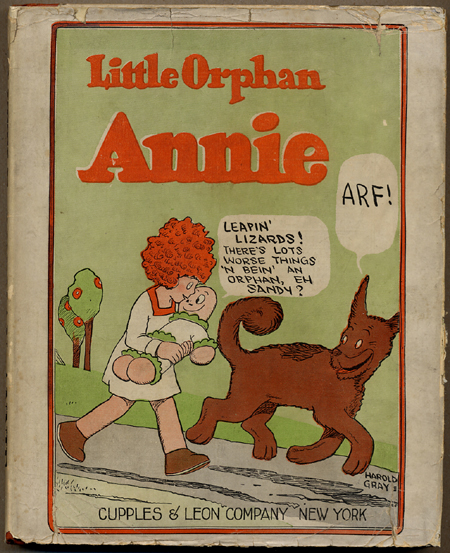 LITTLE ORPHAN ANNIE. Harold Gray.