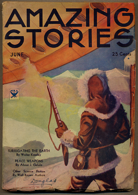 AMAZING STORIES. June, 1934. 1934. T. O'conor Sloane AMAZING STORIES. June, Ed, No. 2 Vol. 9.