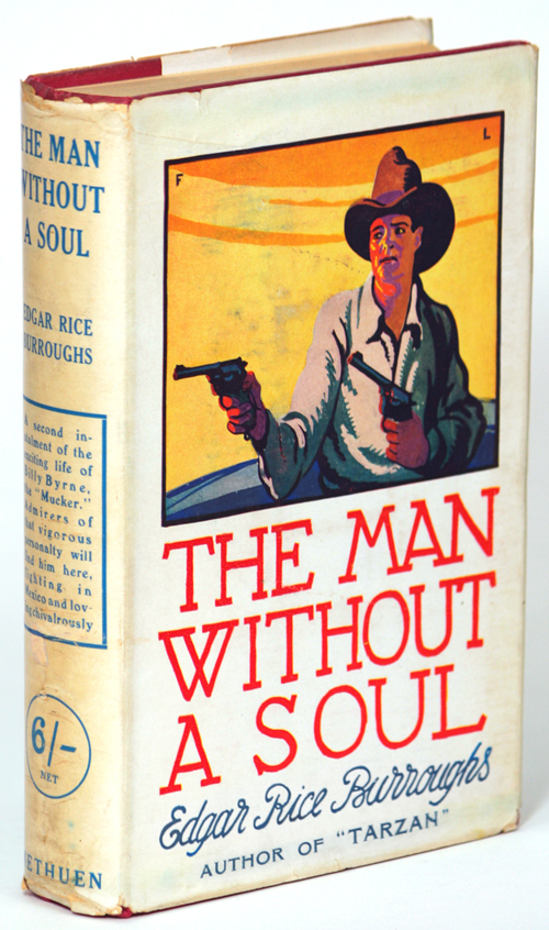 THE MAN WITHOUT A SOUL. Edgar Rice Burroughs.