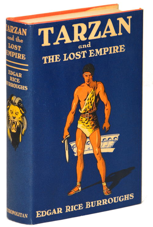 TARZAN AND THE LOST EMPIRE. Edgar Rice Burroughs.