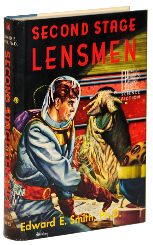 SECOND STAGE LENSMEN. Edward E. Smith.