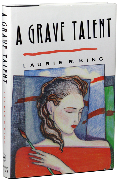 A GRAVE TALENT. Laurie R. King.