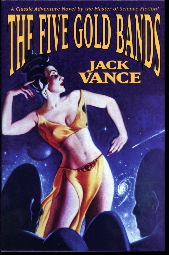 "THE FIVE GOLD BANDS. John Holbrook Vance, ""Jack Vance."""