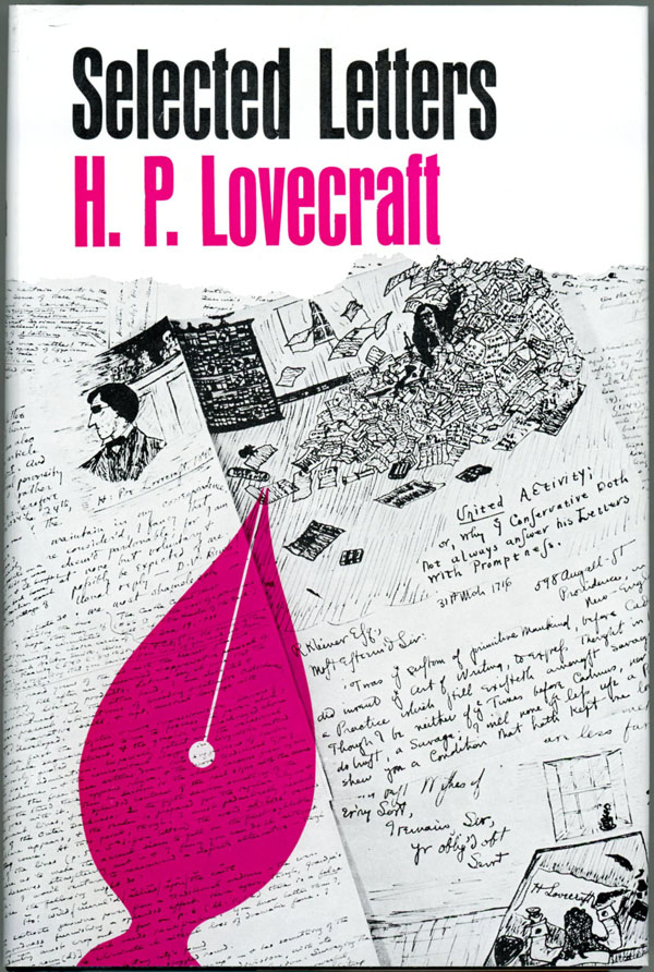 SELECTED LETTERS 1925-1929 [Volume 2]. Lovecraft, oward, hillips.