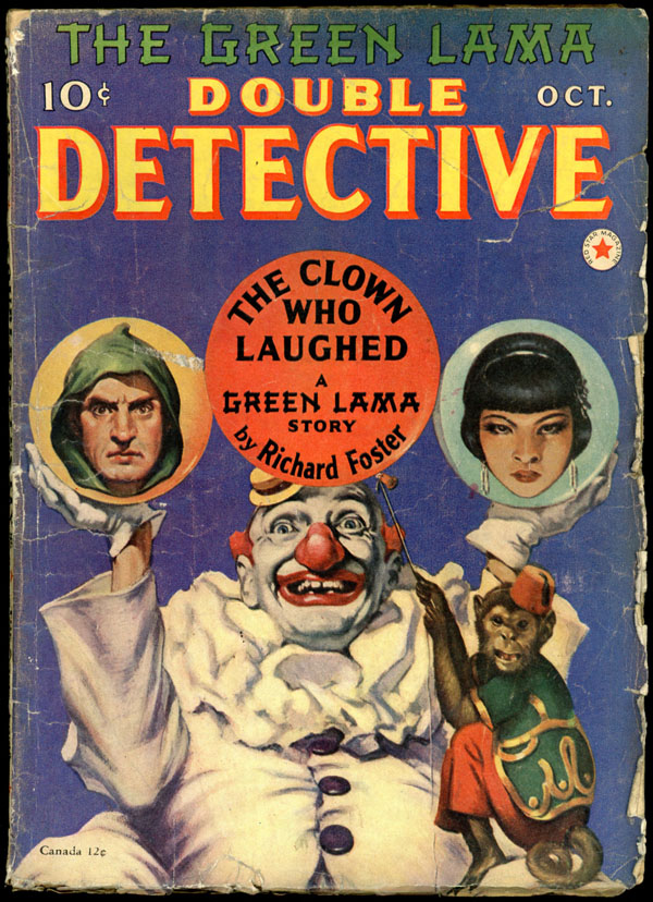 [The Green Lama]. DOUBLE DETECTIVE. The Green Lama, 1940 DOUBLE DETECTIVE. October, No. 5 Volume 6.