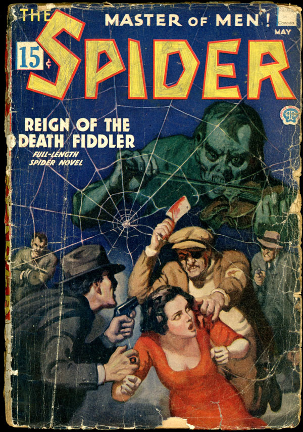 THE SPIDER. 1935 THE SPIDER. May, No. 4 Volume 5.