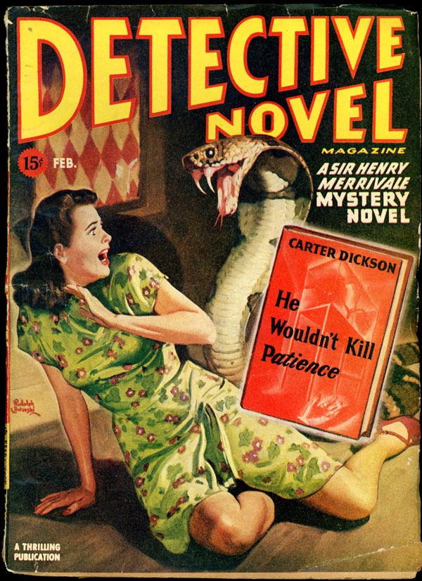 DETECTIVE NOVEL MAGAZINE. 1946 DETECTIVE NOVEL MAGAZINE. February, No. 1 Volume 17.