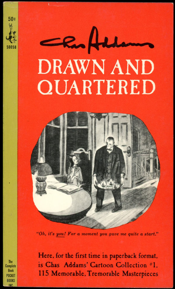 drawn and quartered charles addams first revised paperback edition