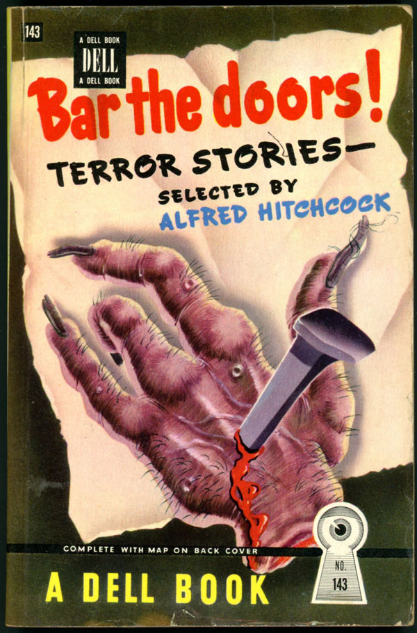 BAR THE DOORS: TERROR STORIES. Hitchcock. Alfred.