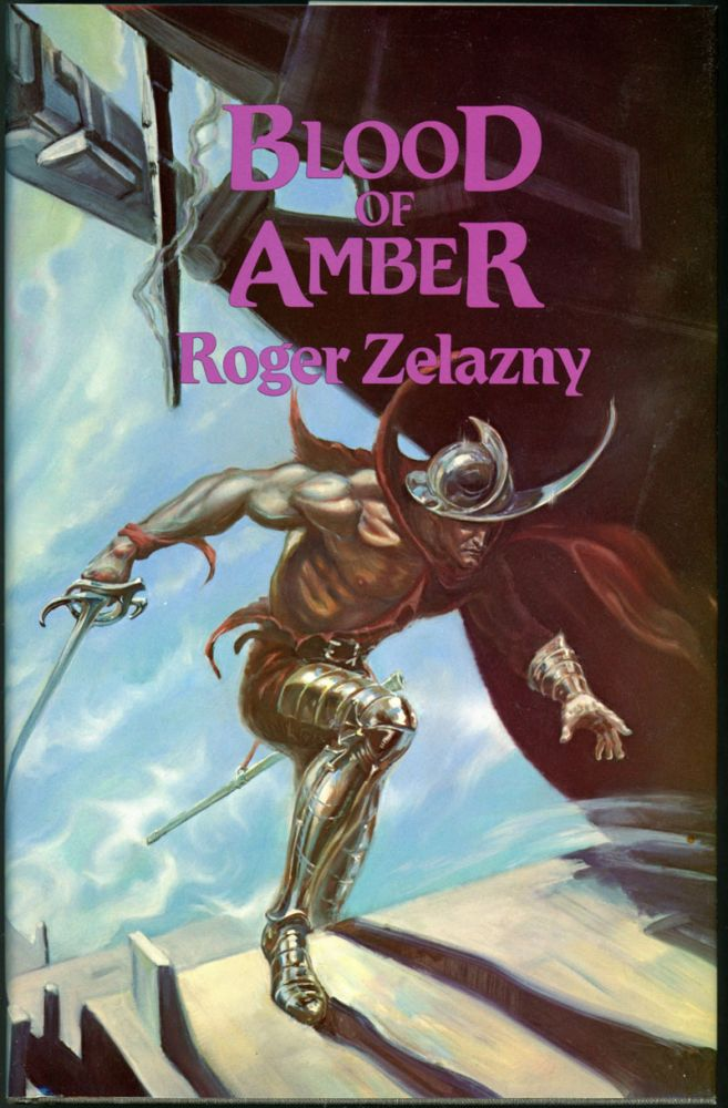 BLOOD OF AMBER. Roger Zelazny.