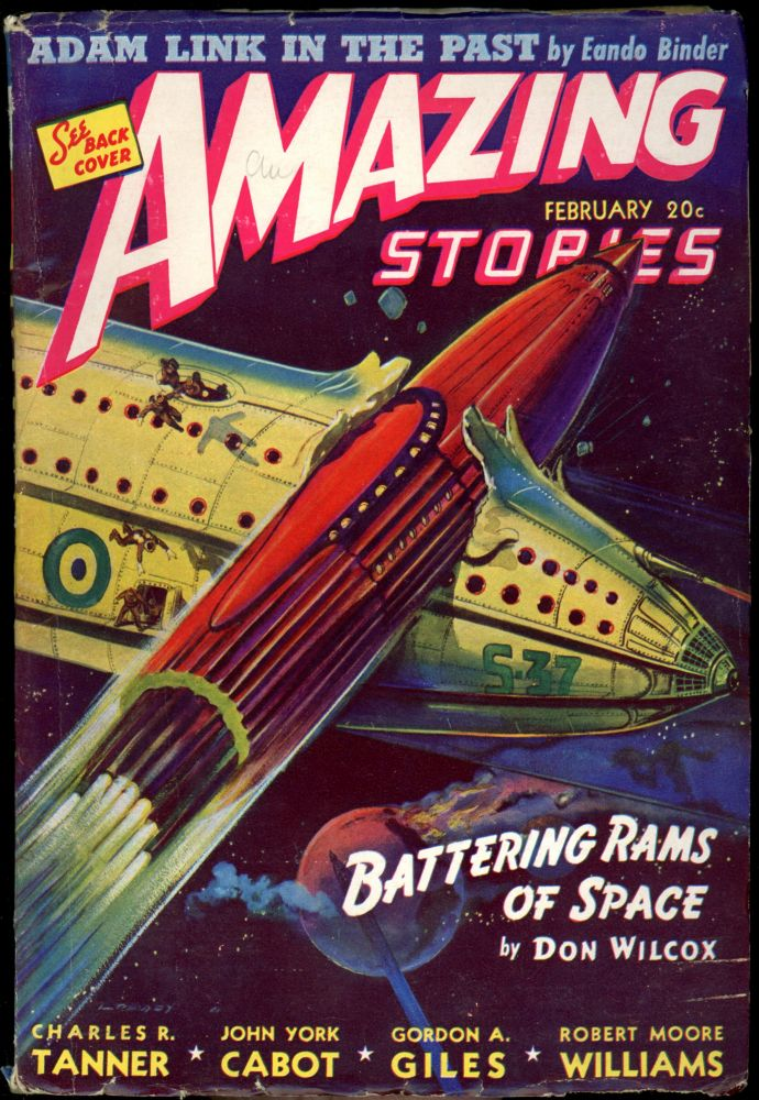 AMAZING STORIES. 1940 AMAZING STORIES. February, No. 2. Vol.15, Bernard G. Davis.