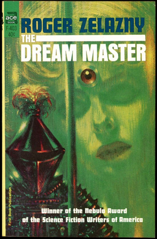 THE DREAM MASTER. Roger Zelazny.