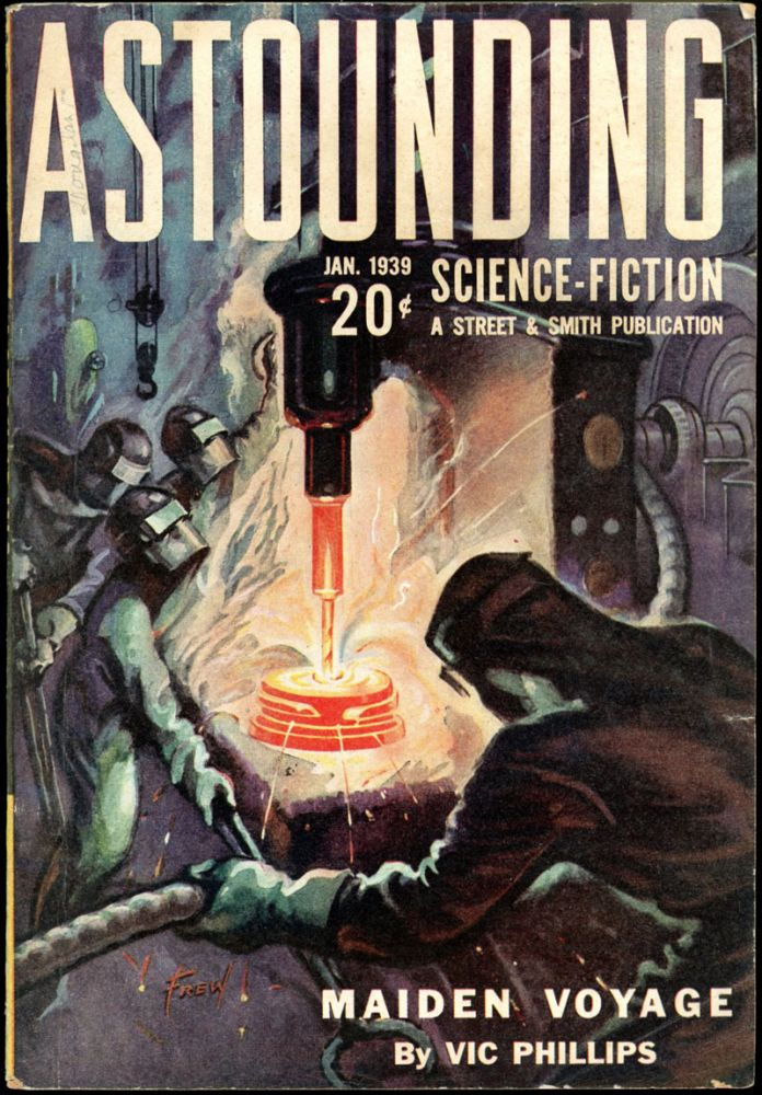 ASTOUNDING SCIENCE FICTION. ASTOUNDING SCIENCE FICTION. January 1939. . John W. Campbell Jr, Volume 22 No. 5.