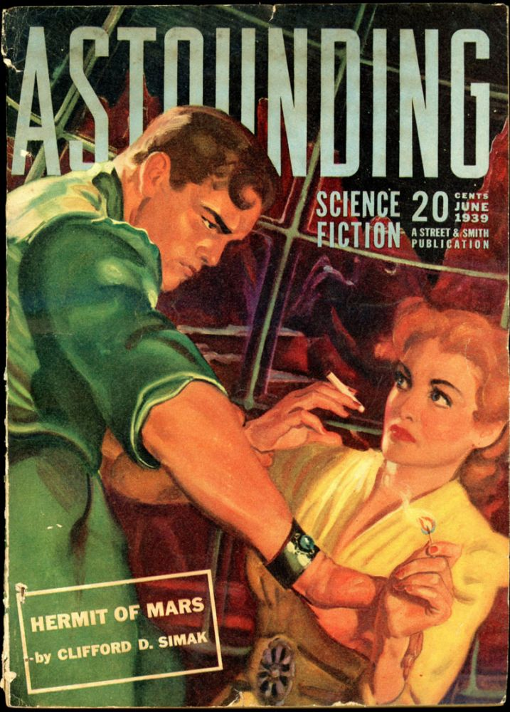 ASTOUNDING SCIENCE FICTION. 1939. . John W. Campbell ASTOUNDING SCIENCE FICTION. June, Jr, No. 4 Volume 23.