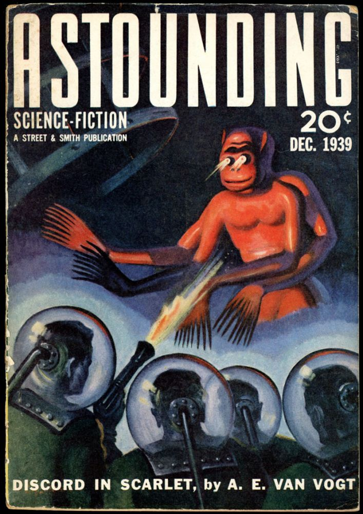 ASTOUNDING SCIENCE FICTION. ASTOUNDING SCIENCE FICTION. December 1939. . John W. Campbell Jr, Volume 24 No. 3.