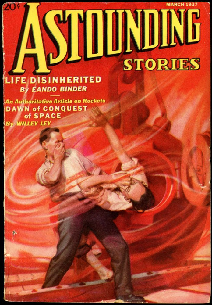 ASTOUNDING STORIES. ASTOUNDING STORIES. March 1937., #1. F. Orlin Tremaine Volume 19.