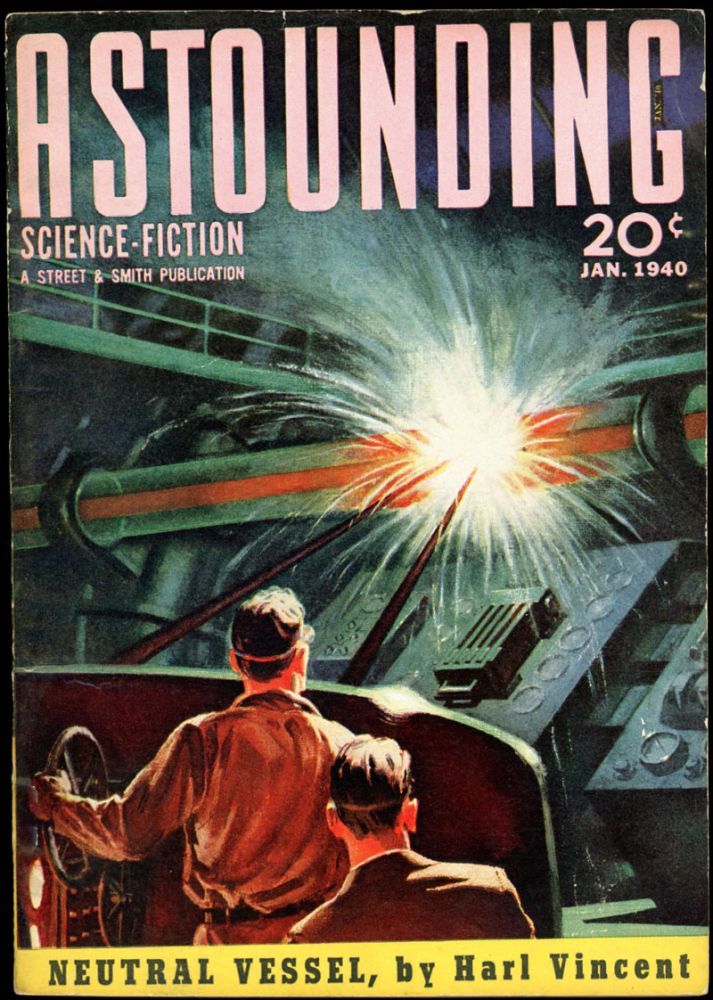 ASTOUNDING SCIENCE FICTION. ASTOUNDING SCIENCE FICTION. January 1940. . John W. Campbell Jr, Volume 24 #5.