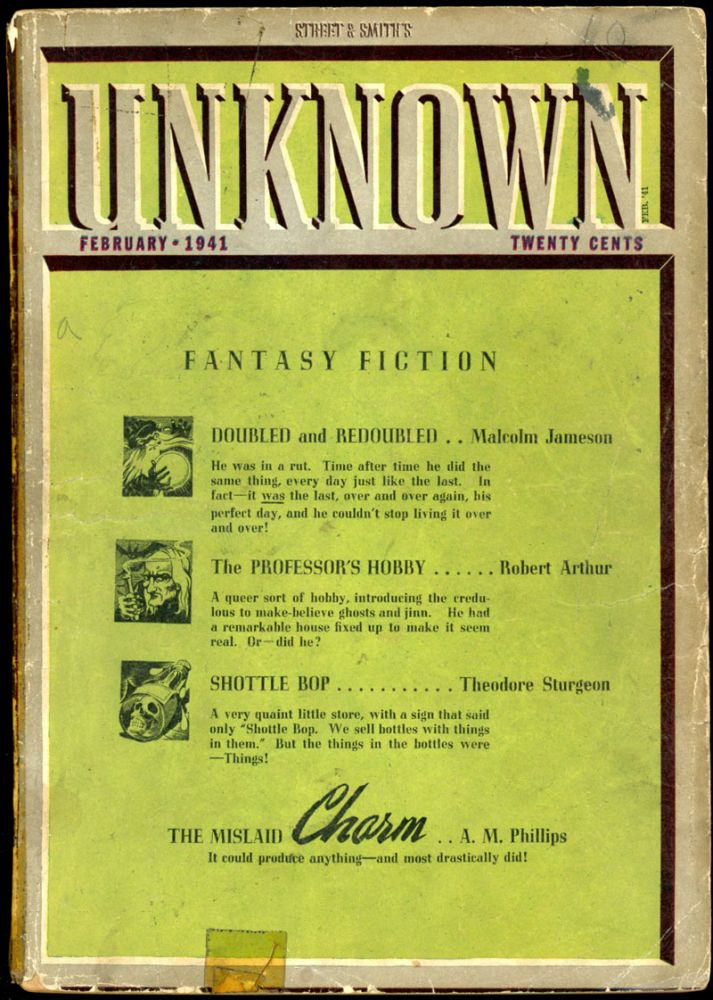 UNKNOWN. UNKNOWN. February 1941. ., John W. Campbell Jr, No. 5 Volume 4.
