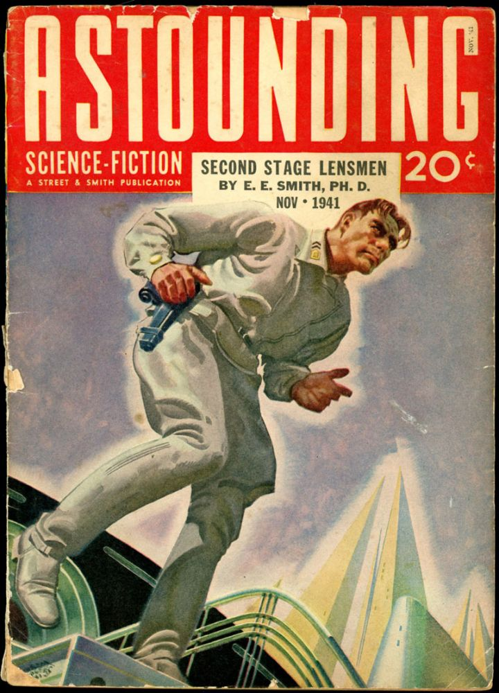ASTOUNDING SCIENCE FICTION. ASTOUNDING SCIENCE FICTION. November 1941. . John W. Campbell Jr, Volume 28 No. 3.
