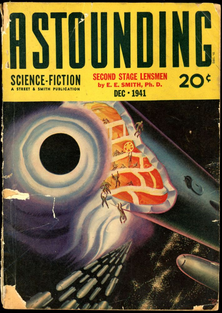 ASTOUNDING SCIENCE FICTION. ASTOUNDING SCIENCE FICTION. December 1941. . John W. Campbell Jr, Volume 28 No. 4.
