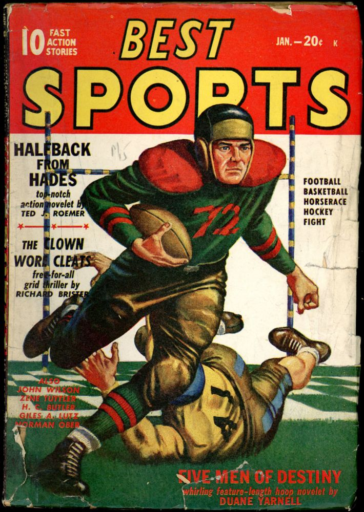 BEST SPORTS. BEST SPORTS. January 1948, Volume 2 No. 2.