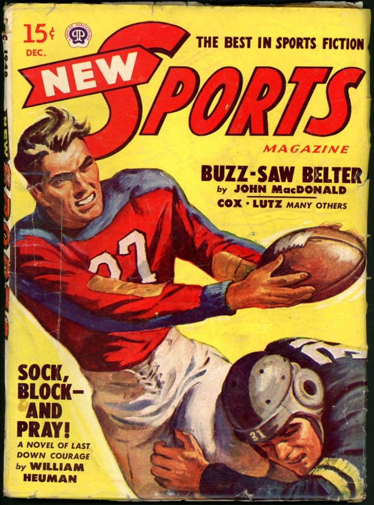 NEW SPORTS MAGAZINE. JOHN D. MACDONALD, NEW SPORTS MAGAZINE. December 1948, Volume 5 No. 3.