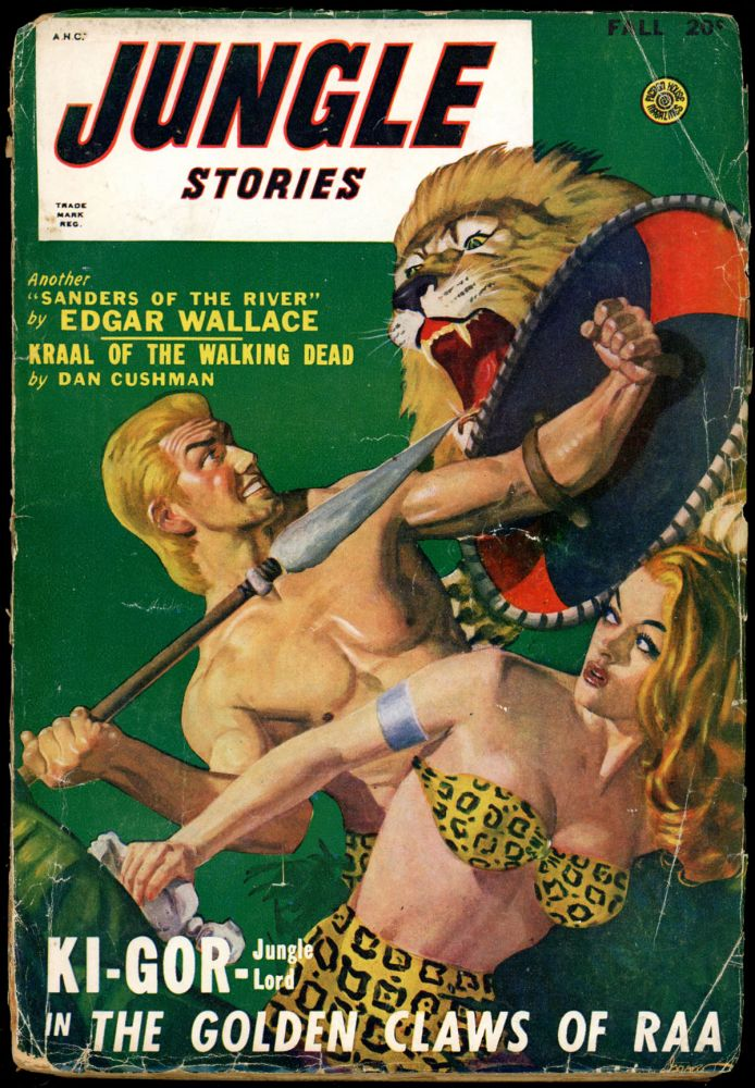 JUNGLE STORIES. JUNGLE STORIES. Fall 1948, August-October., Volume 4 #4.
