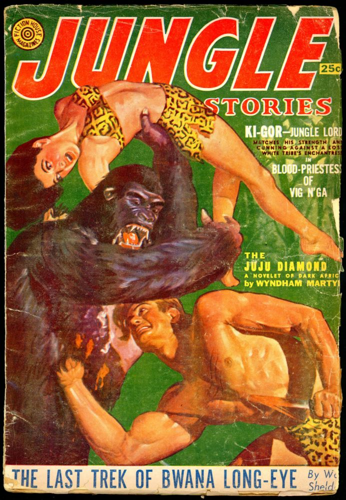 JUNGLE STORIES. JUNGLE STORIES. Winter, November-January., Volume 5 #4. Jerome Bixby.