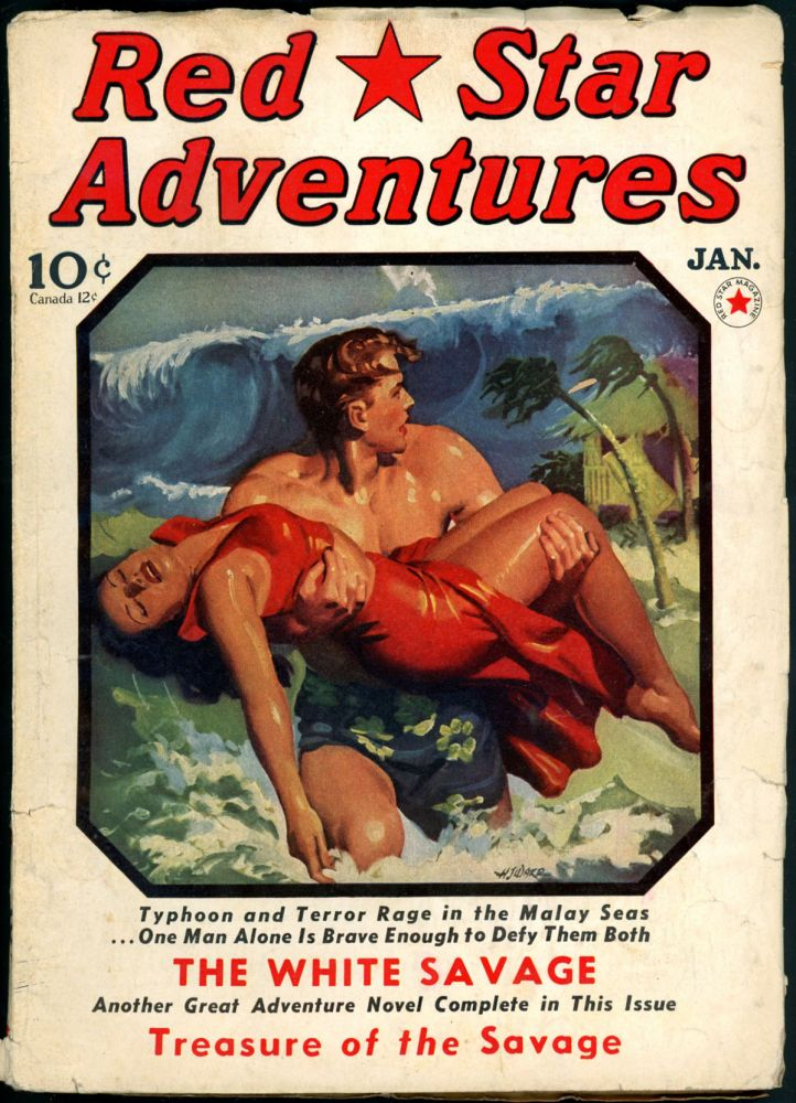 RED STAR MYSTERY. E. Hoffman; Martin McCall Price, RED STAR ADVENTURES. January 1941, No. 4 Vol. 1.