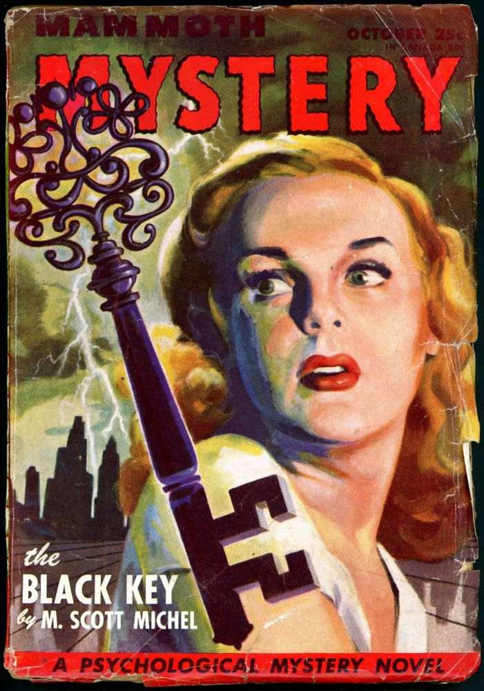 MAMMOTH MYSTERY. JOHN D. MACDONALD, MAMMOTH MYSTERY. July 1946 . Raymond A. Palmer, Volume 2 No. 5.