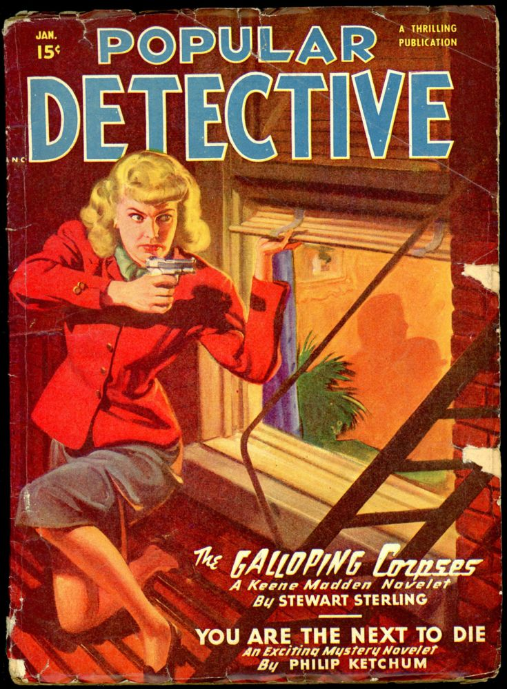 POPULAR DETECTIVE. POPULAR DETECTIVE. January 1950, No. 1 Volume 38.