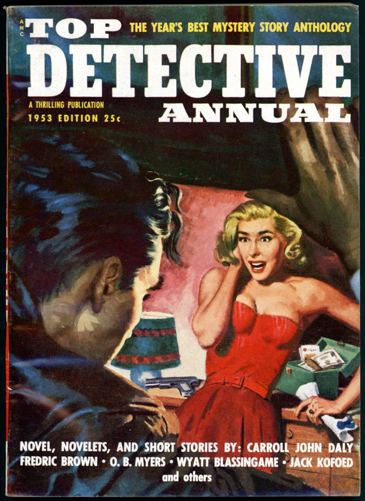 TOP DETECTIVE ANNUAL. TOP DETECTIVE ANNUAL. 1953. . David X. Manners, No. 4 Volume 1.