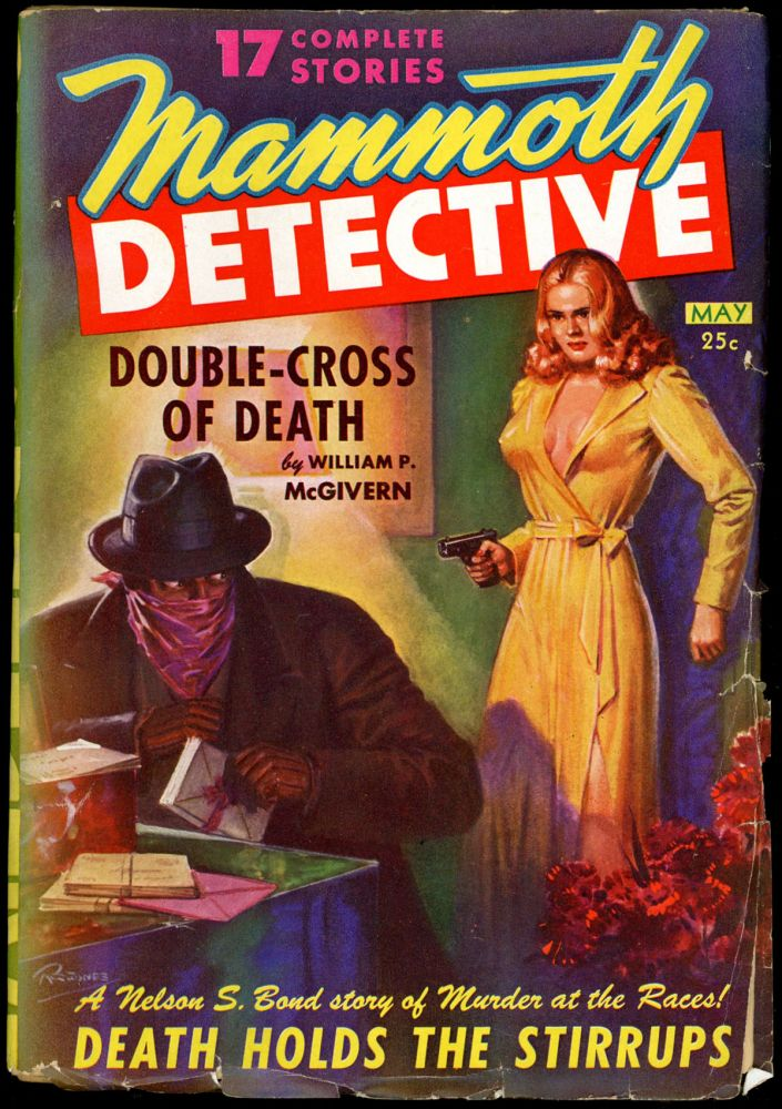 MAMMOTH DETECTIVE. MAMMOTH DETECTIVE. May 1943 . B. G. Davis, Volume 2 No. 3.