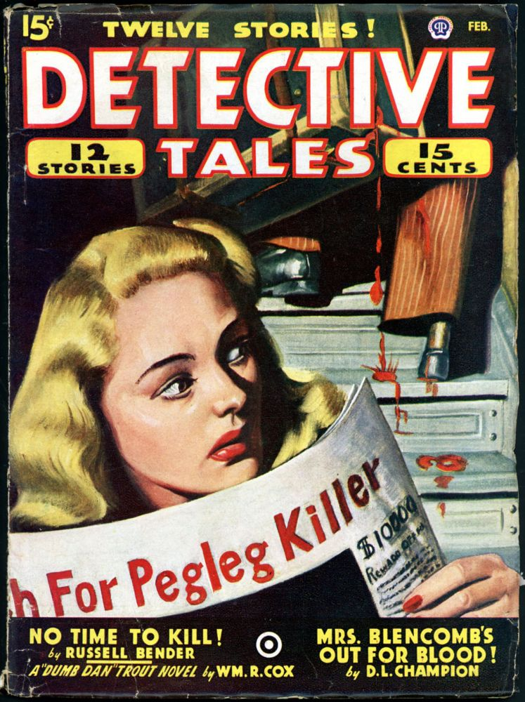 DETECTIVE TALES. DETECTIVE TALES. February 1947, No. 3 Volume 35.